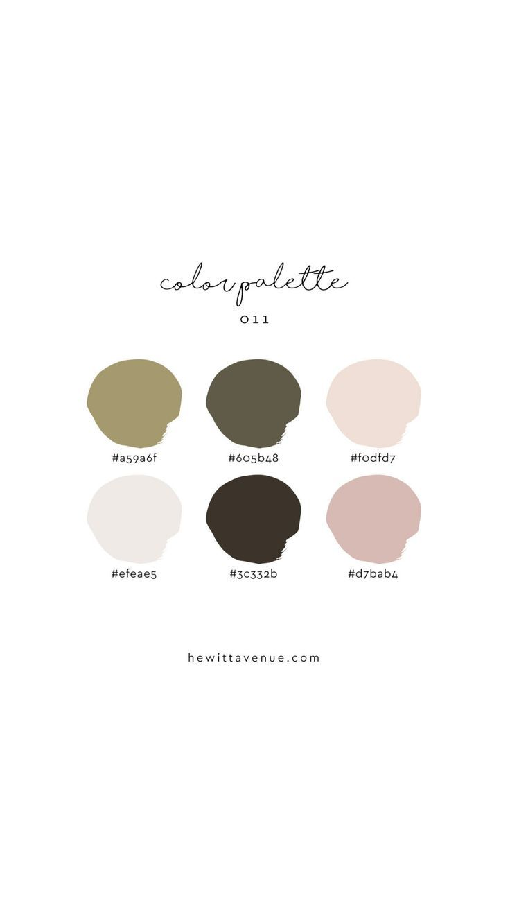 neutral blush pink branding color palette #color #colorpalette #kräutergartenpalette