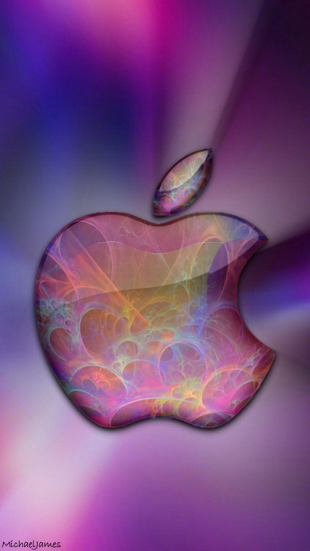 Cosmic Glass Apple 640 X 1136 Wallpapers Available For Free Download Apple Wallpaper Apple Logo Wallpaper Iphone Apple Logo Wallpaper