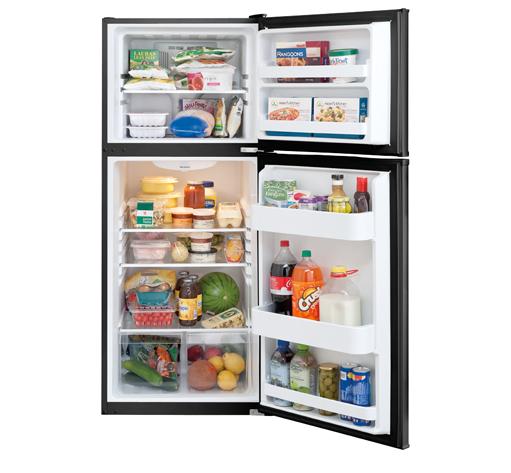 Frigidaire 12 Cu. Ft. Top Freezer Apartment-Size Refrigerator ...
