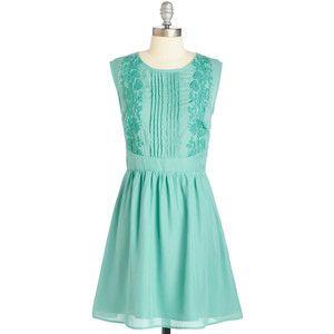 Mid-length Sleeveless A-line Awe About It Dress by ModCloth