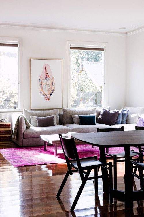 Totally Loving: Overdyed Rugs | Nicole Gibbons Style | Pinterest ...