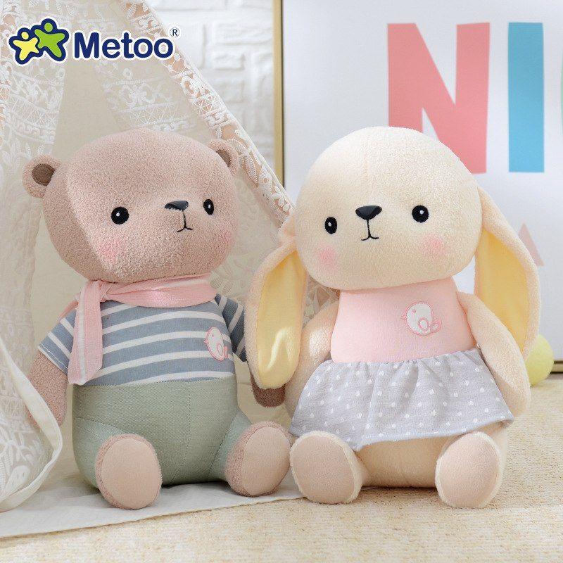 Metoo Doll Plush Stuffed Rabbit Kawaii Animals Cute Lovely