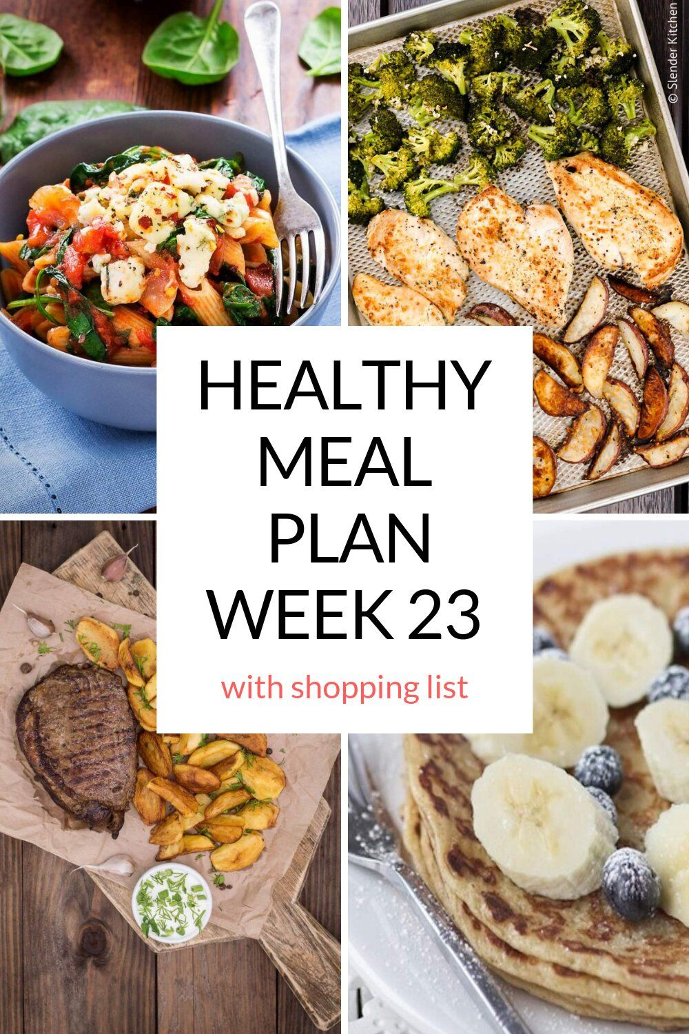 Healthy Meal Plans Week 23 Low Carb Recipes Healthy