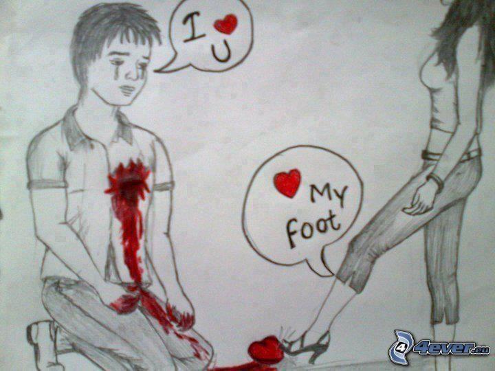 Broken Heart Images Blunt's broken heart.