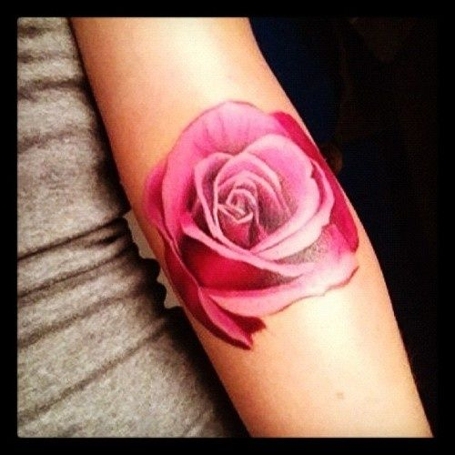I want my rose to look like this!