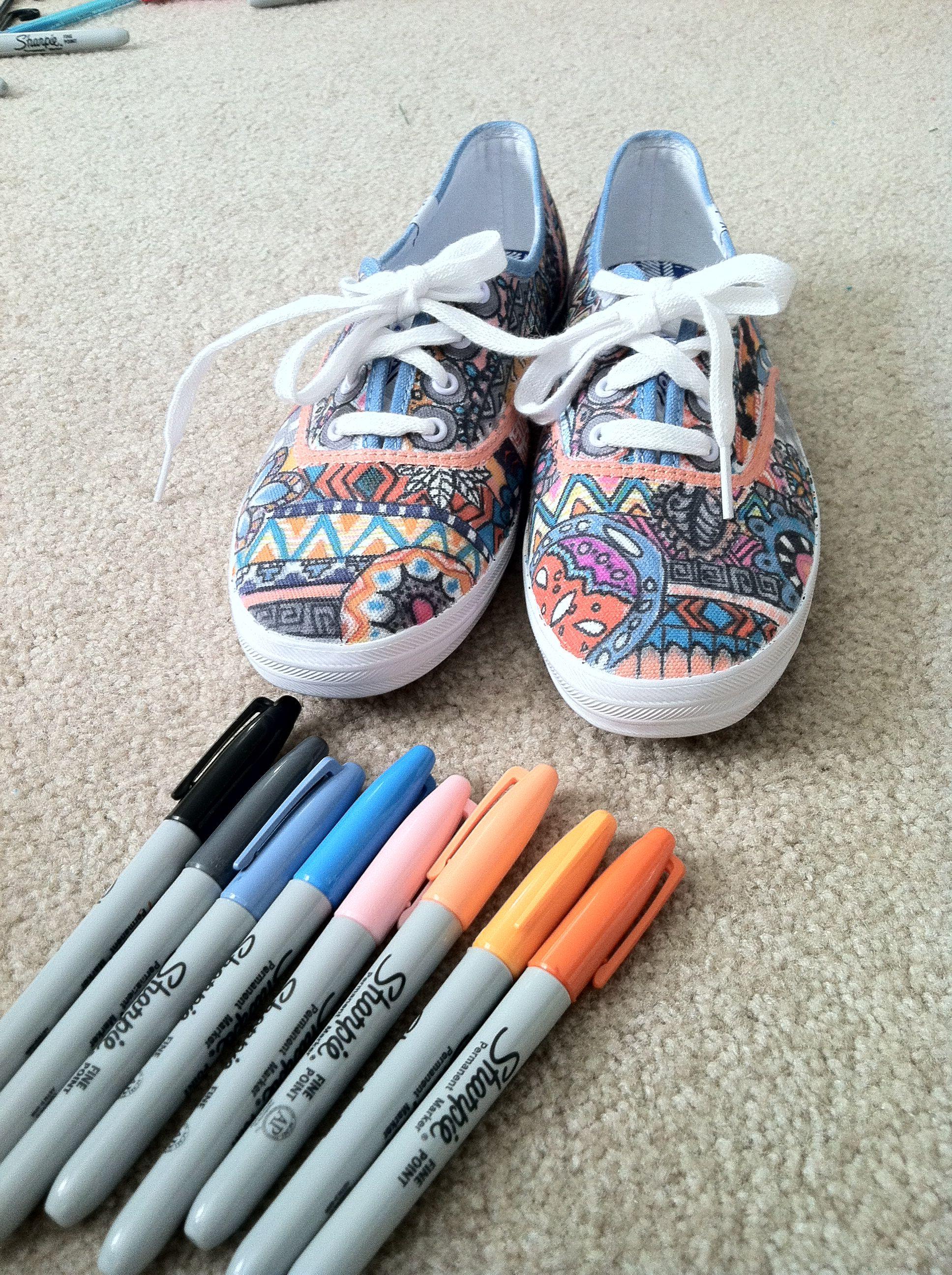 Diy sharpie shoes sharpie shoes diy sneakers diy shoes