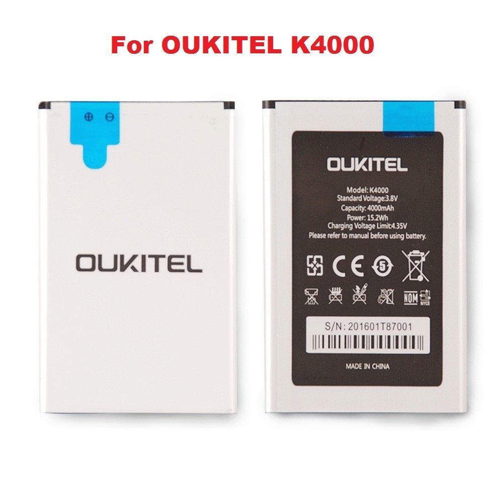 New Original Oukitel K4000 4000mAh Li-ion Backup Battery