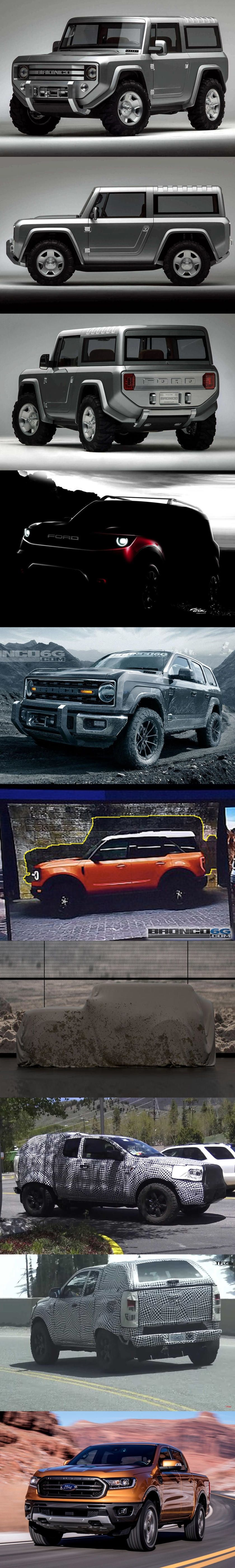 Jeep Should Read This Latest Reborn Ford Bronco Rumor Ford Bronco