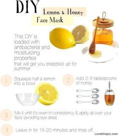 Do it yourself beauty recipes google search do it yourself diy lemon and honey face mask diy skin diy ideas do it yourself diy beaty diy spa treatment easy diy facial mask face mask skincare solutioingenieria Choice Image