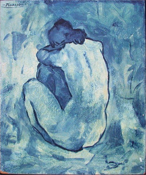 Blue nude - Picasso