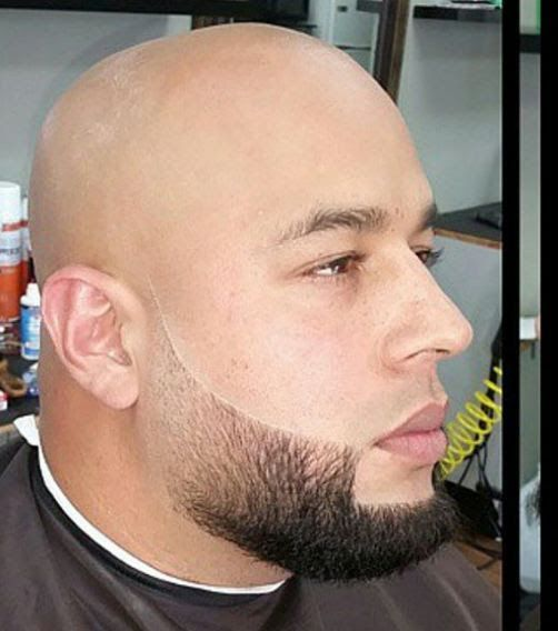 Balbo Beard A Without Sideburns And Trimmed Floating Mustache