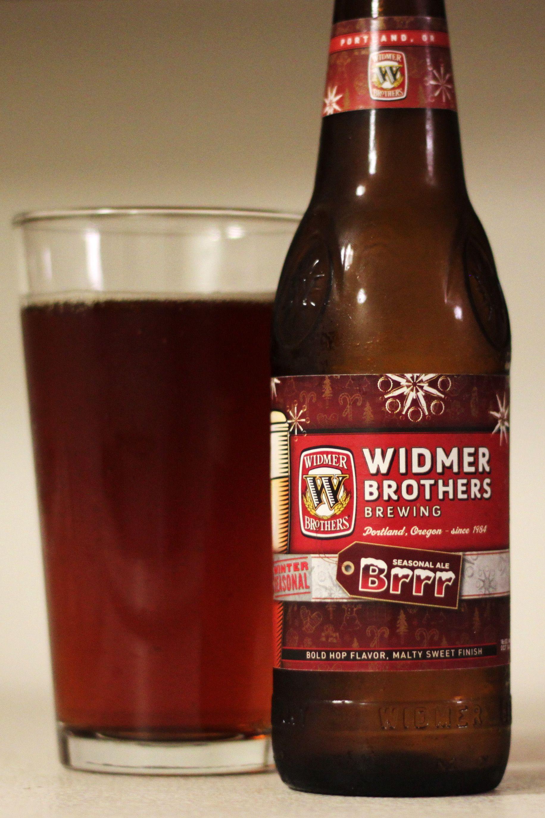 Widmer Brothers Brrr Seasonal Ale | Winter Red Ale | 7.2% ABV | Portland, Oregon
