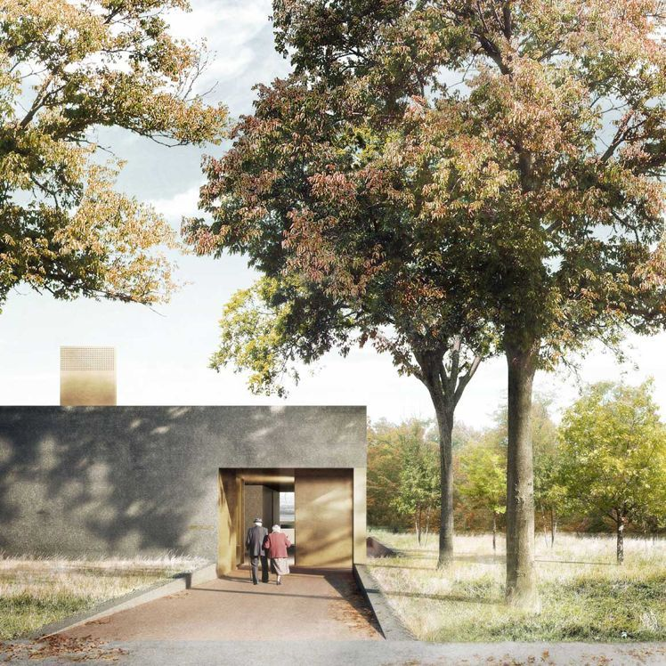 Duggan morris new crematorium basel 1 for Raumgestaltung planer