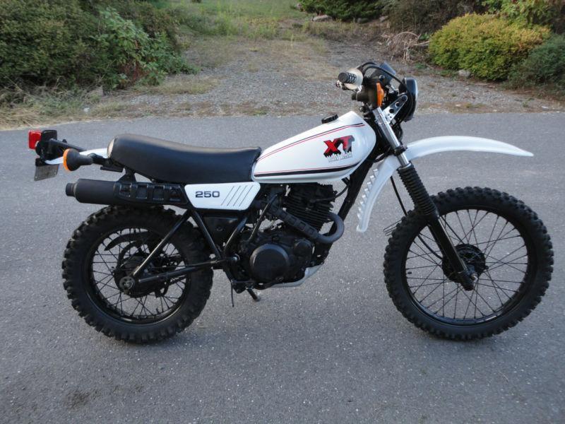 Pin By Balint Koch On Xt 250 In 2020 Classic Motorcycles Moto Bike Classic Bikes