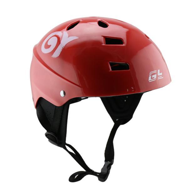Red Kayak Helmet Four Sizes Surfing Waveboard Helmet Use For