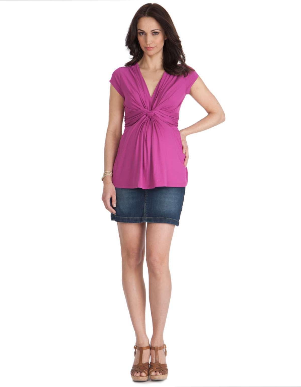 38fa34e45b8a3 Maternity Mini Skirt front | Maternity | Maternity maxi skirts ...