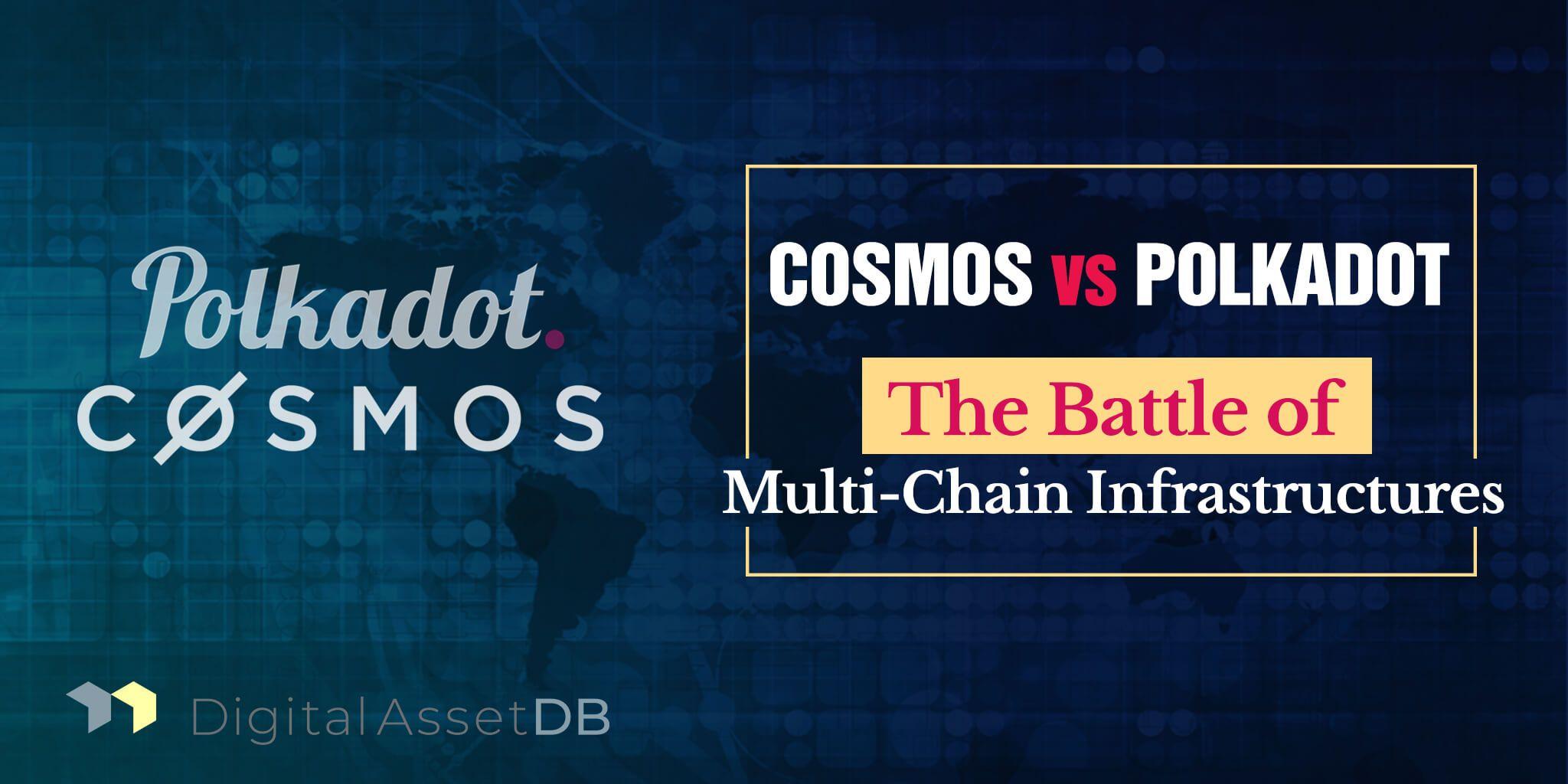 Unbiased Comparison Cosmos vs Polkadot Cosmos, Polka