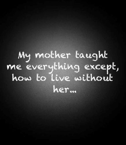 I Love My Dad Wallpapers For Mothers Day 2017 My Mother Taught Me Everything Except How To Live Without Her T Miss You Mom Quotes Miss You Mom My Mom Quotes