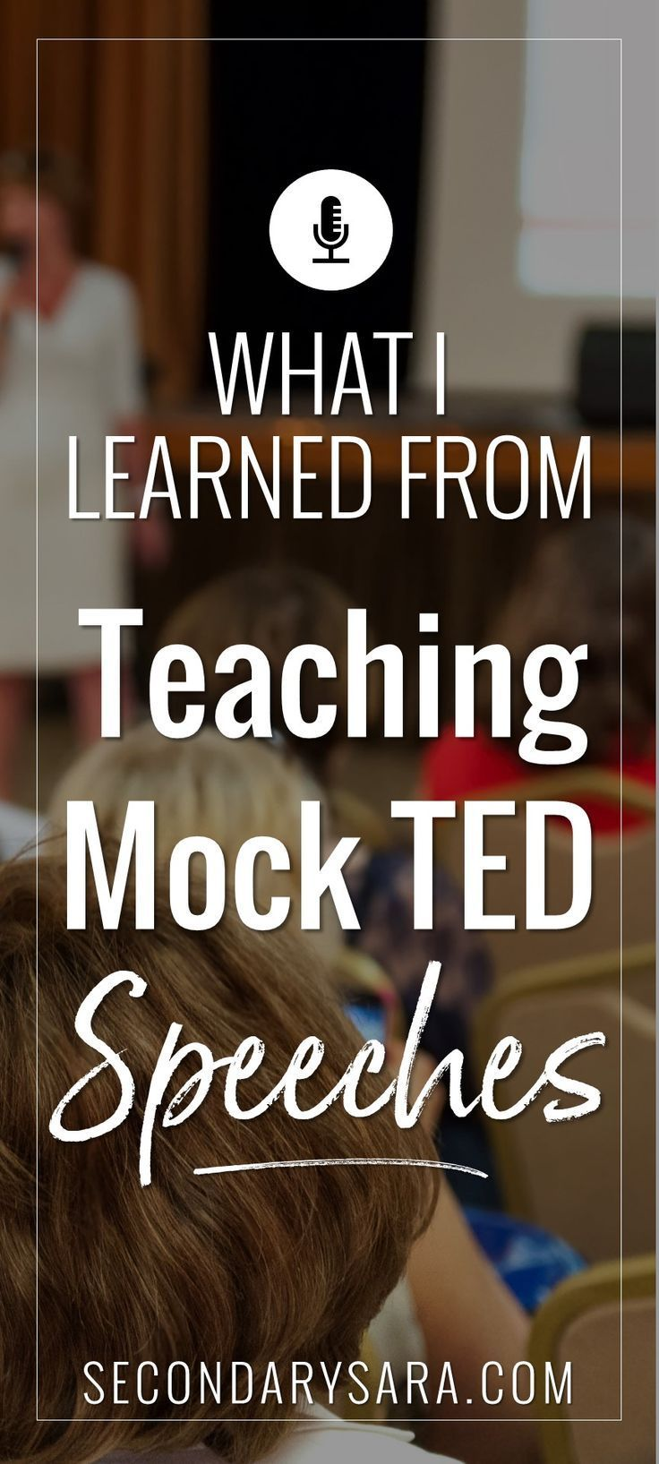 What i learned from teaching tedstyle speeches post 2