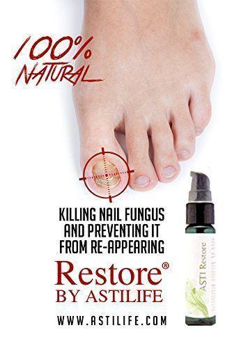 ASTI Restore - #1 Premium Natural Nail Fungus Remedy Anti Fungal ...