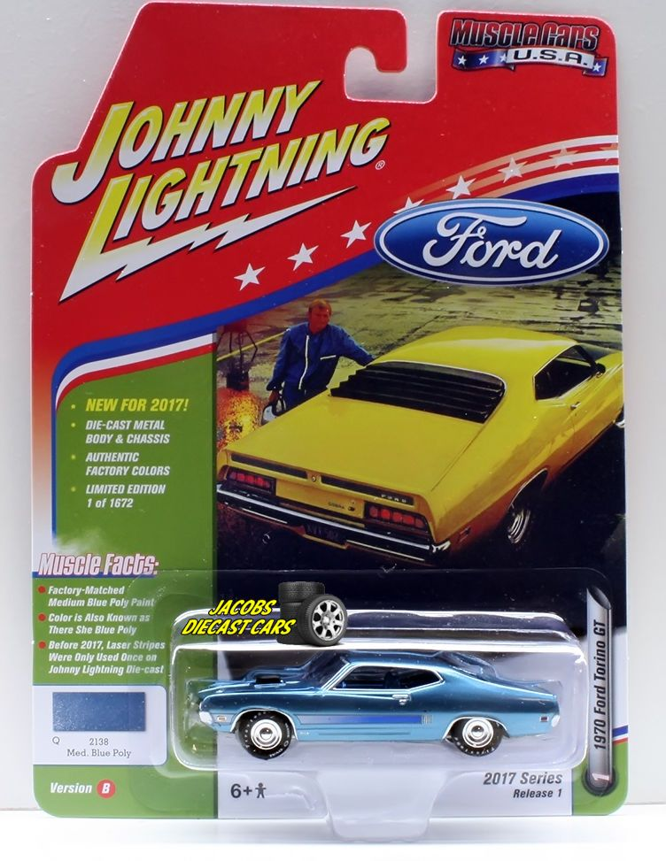 1967 Plymouth Barracuda  Dark Green **RR** Johnny Lightning Classic 1:64 NEU
