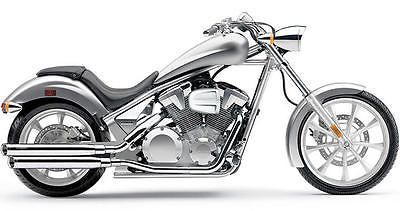 Cobra Slip-On Mufflers Chrome fits Honda VT1300CX Fury