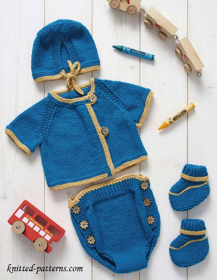 Knitmeasweater : Newborn layette #free # knitting pattern link here ...