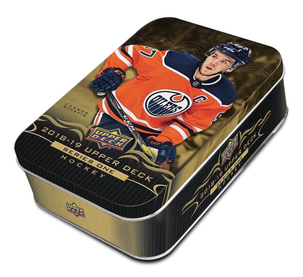 201819 upper deck series 1 nhl hockey trading cards 12pk