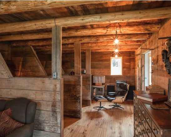 How Great Is This Barn Turned Into An Office With The Stalls As