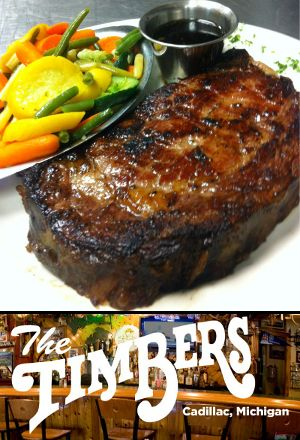 The Timbers offers a wide slection of drink and food choices, and is ...