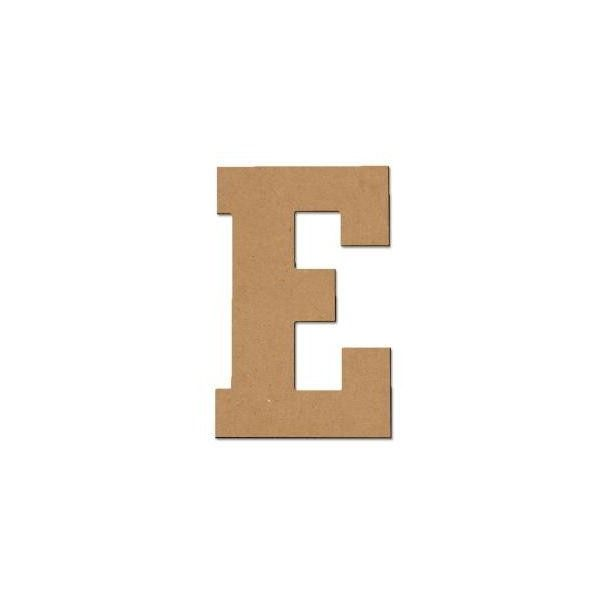 In Mdf Block Letter E At The Home Depot  Liked On