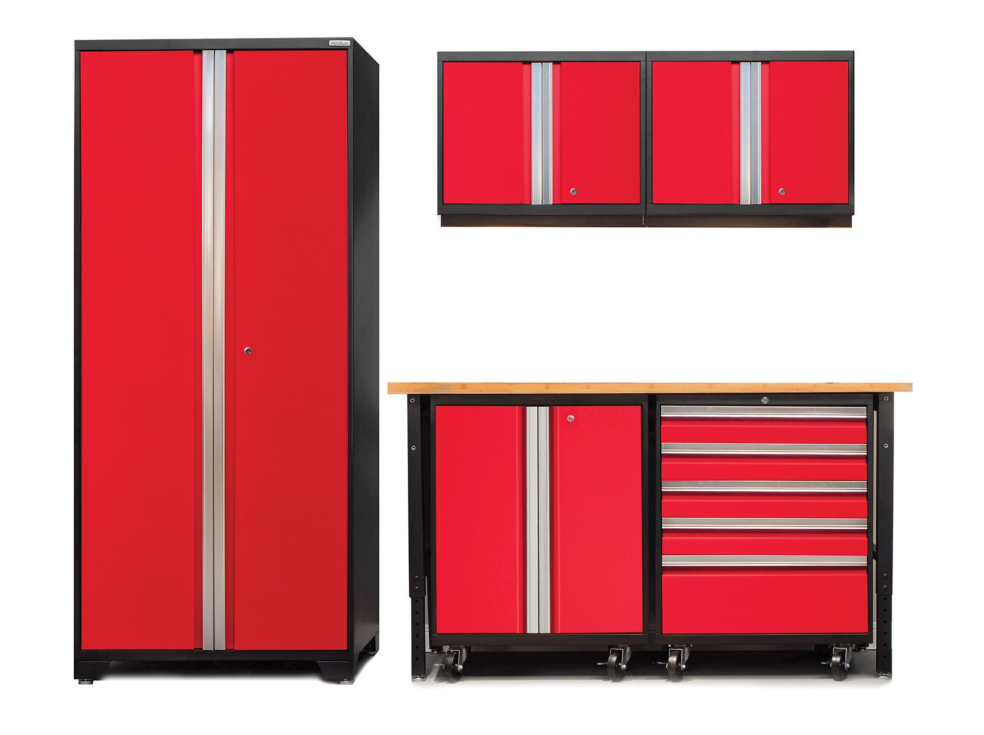 Pro 3.0 Series 6-Piece Garage Storage Cabinet Set