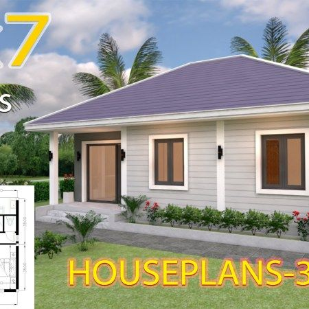 Small Home Design Plan 5 4x10m With 3 Bedroom Samphoas Plan Modern House Plans Small House Design Simple House Design