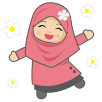 Hi My Name Is Ameena I Am Little Muslimah Let Enjoy With