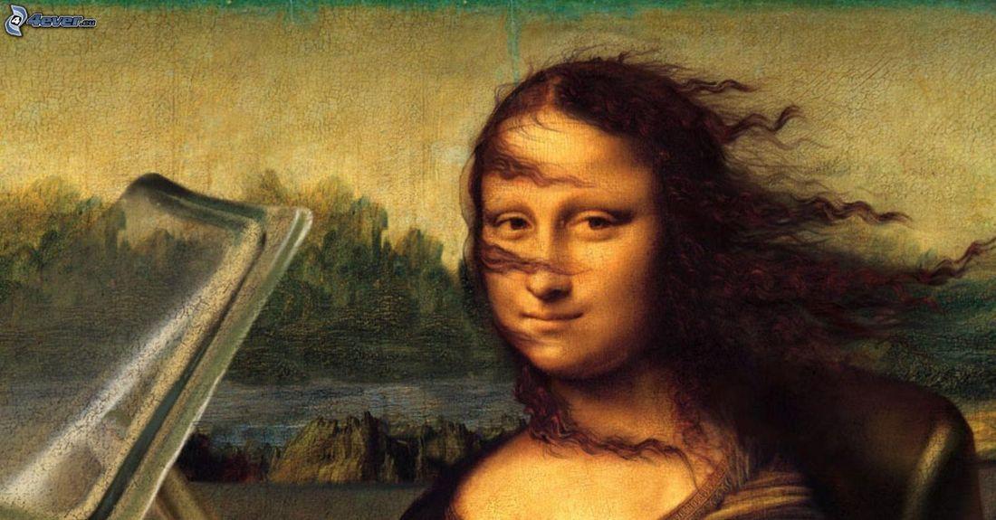 Mona Monday!, Mona Lisa parody, Mona Lisa Memes, Leonardo