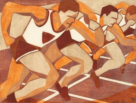 """""""Just-off"""" ~  Lill Tschudi, 1932"""