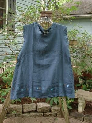 Barclay NWT Mid Layer Cap Sleeve Tunic Square Blue Teal Size 2