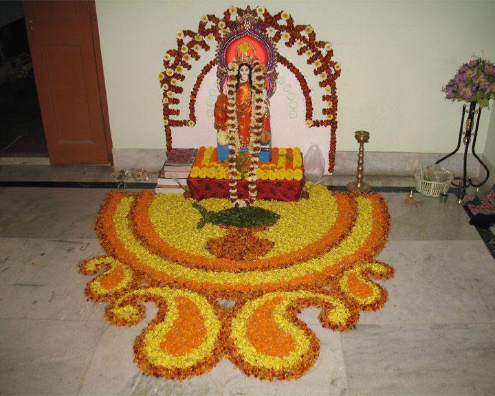 Floral Alpana Rangoli Designs Flower Flower Wallpaper Diwali