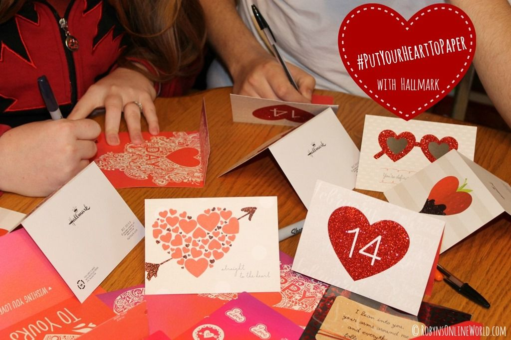 How my family and I are putting our hearts to paper this Valentine's Day #PutYourHeartToPaper #sponsored