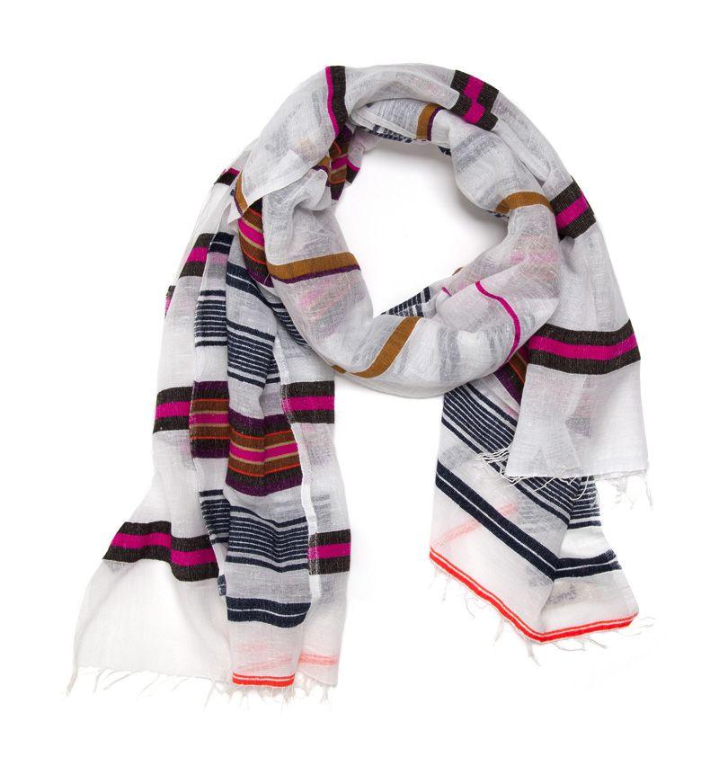 Bella split scarf by lemlem
