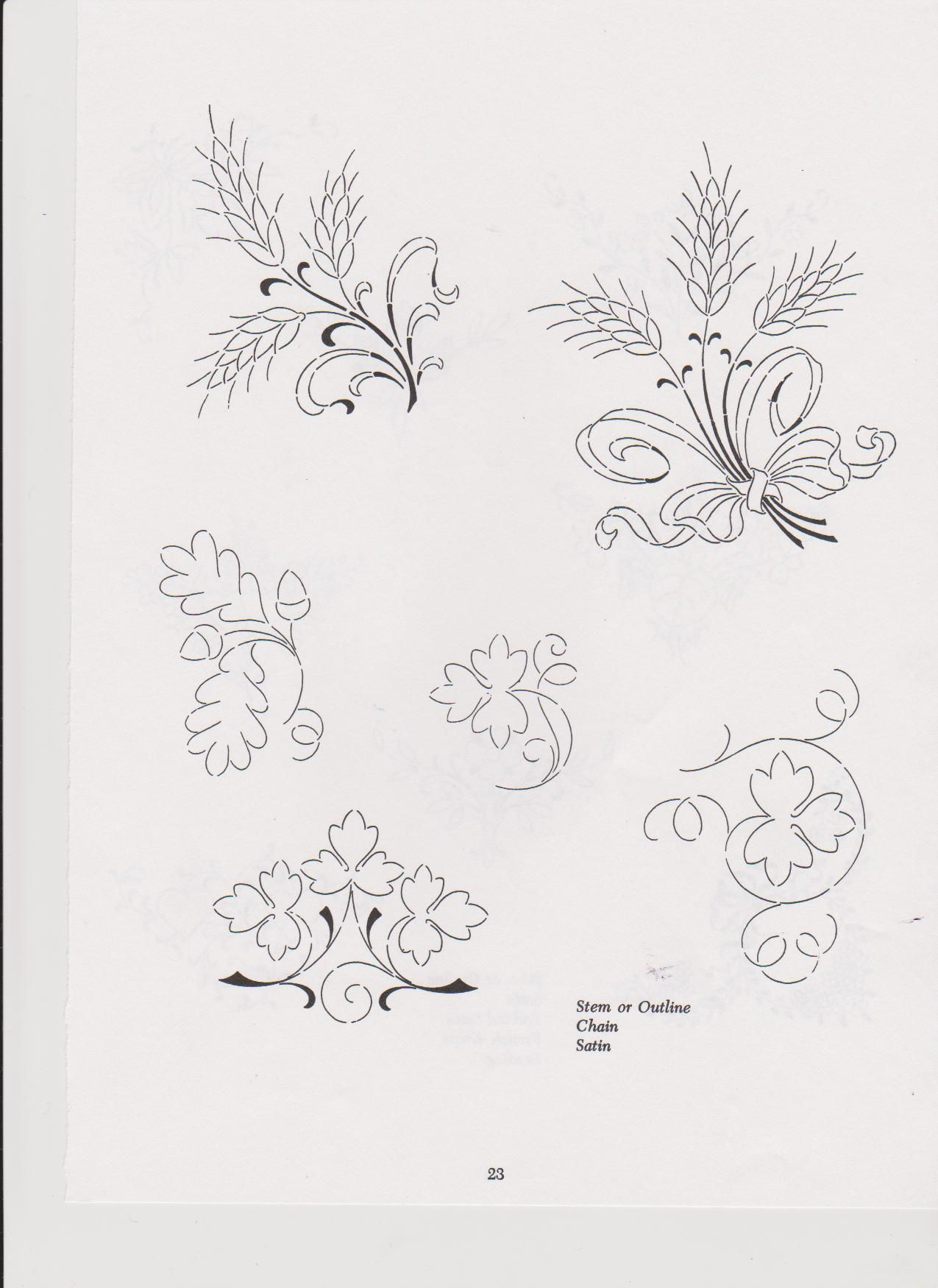 Embroidery Pattern #74 Image Only. Unable to find original source ...