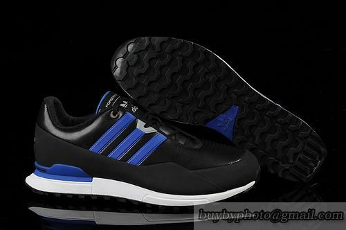 Men s Adidas Porsche Design 911S Leather Running Shoes Black Sapphire  Blue only US 85.00 f926b33b82b4