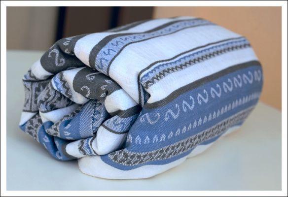 Zara Tri Blue Ellevill Wraparound Baby Carrier   Baby ...