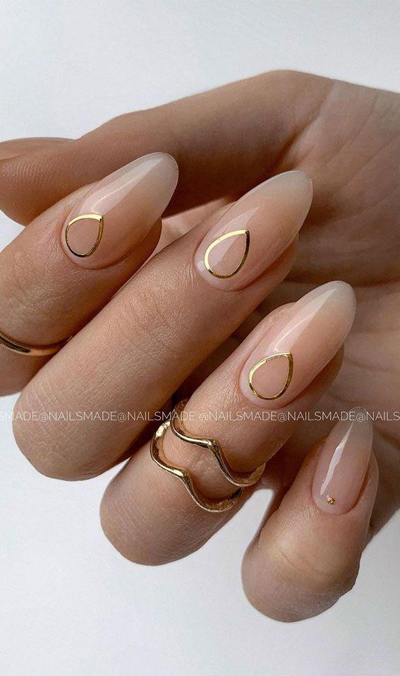 pix Elegant Neutral Nail Designs pinterest
