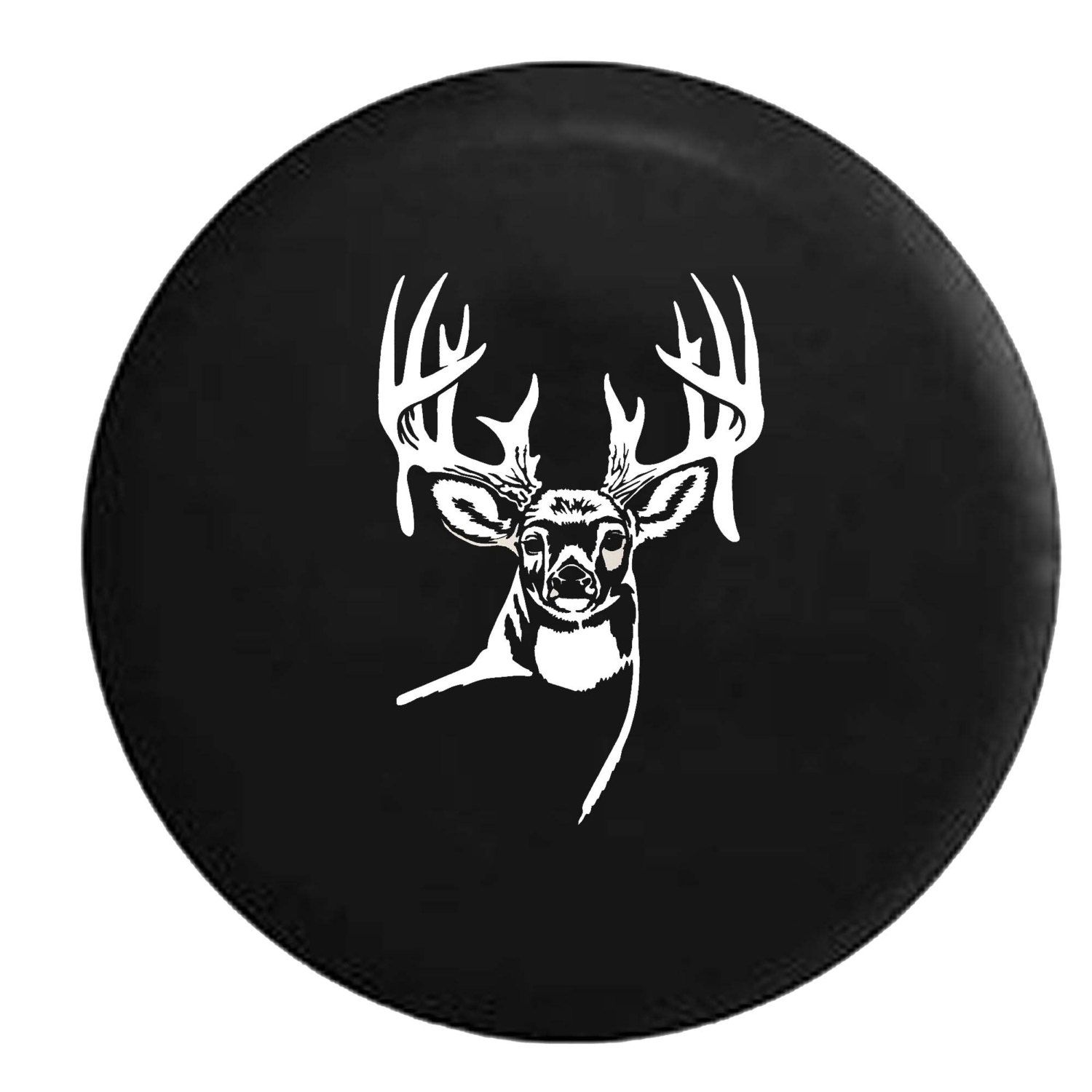 Spare Tire Cover Deer With Antlers Looking Forward Hunting Etsy