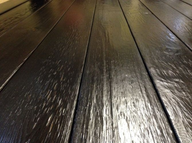 Siding But Shou Sugi Ban Can Be Decking