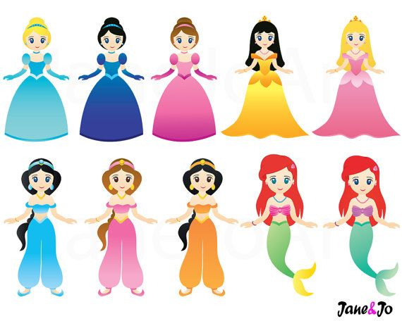 princess clipart princess clip art fairytale princess clipart cute rh pinterest co uk free princess clipart black and white free clipart princess crown