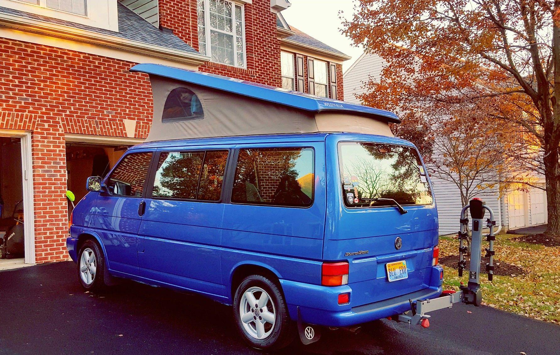 Just washed 2003 VW Eurovan Westfalia   VW Eurovan   Vehicles, Vans, Car