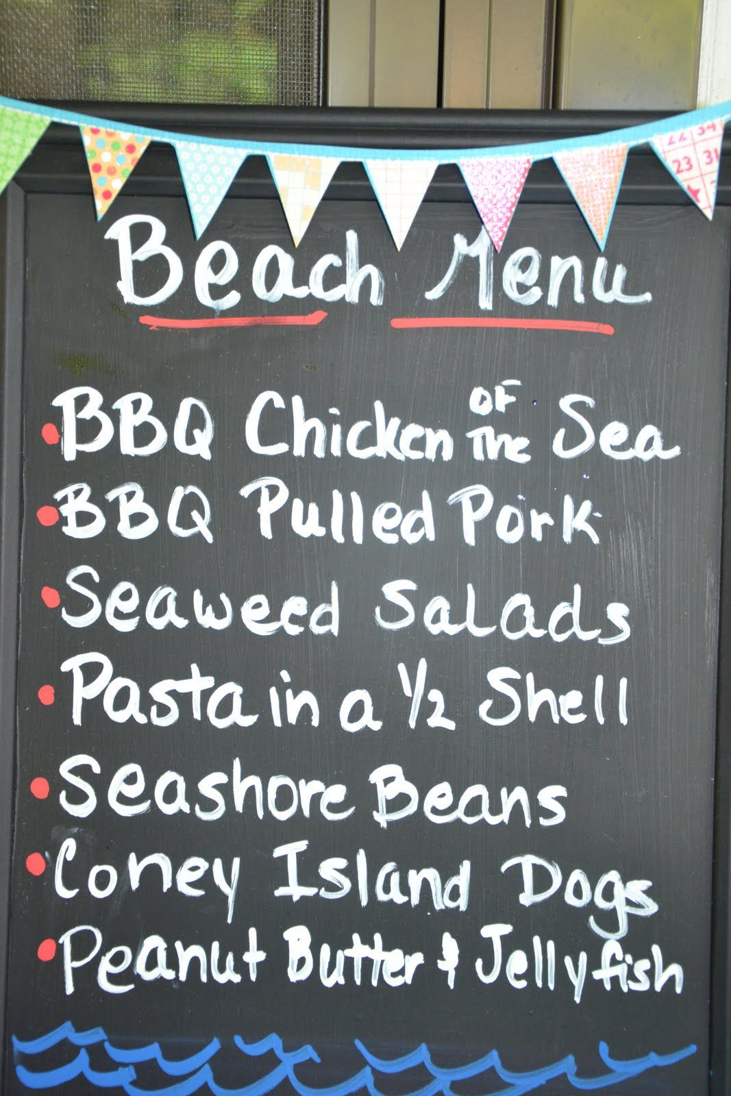 Backyard Coney Island Menu the joys of home educating: backyard birthday beach bash | eat