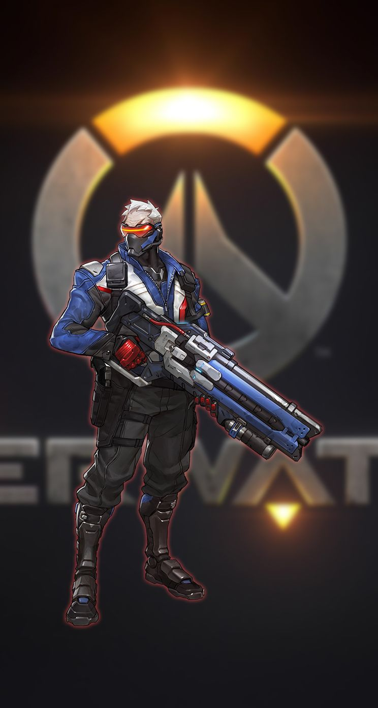 Soldier 76 Overwatch Iphone 5 5s Wallpaper By Kornkidro On Deviantart Soldier 76 Overwatch Soldier